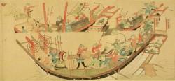 Хан Кублай, военный поход на Японию, монгол, Армия Великой Тартарии, внук Чингис Хана, ja-rus