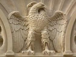 Орёл, Кондор, с двумя головами, Военный, Белый, Армейский, Герб Армии, фальсификация истории, Россия, я - Рус!