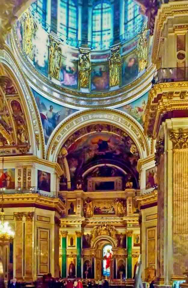 Исаакиевский собор, внутреннее убранство (2 часть), Санкт ... | 960x625