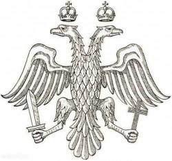 герб, захваченная Россия, переписывание, фальсификация, я - Рус