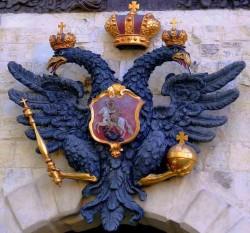 Кондор, с двумя головами, Орёл, Военный, Белый, Армейский, Герб Армии, фальсификация истории, Россия, я - Рус!