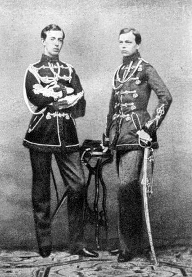 Два брата Гольштейн, начало 1860 годов, Русь, оккупация, летопись, история
