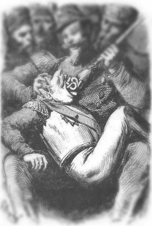 Карикатура на Россию, Русь, оккупация, летопись, Фальшивая история