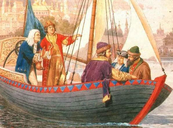 Петр Великий и его «великие» дела против русов. Фальсификациия истории