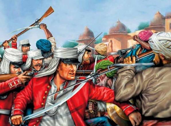 Восстание сипаев. Индия. Тёмные этапы французской революции